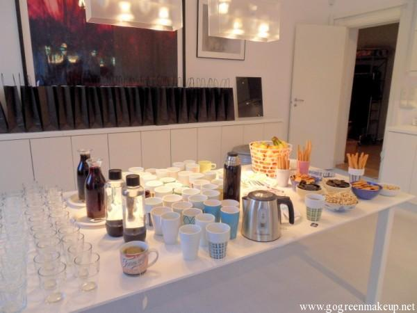 organic beauty shop event