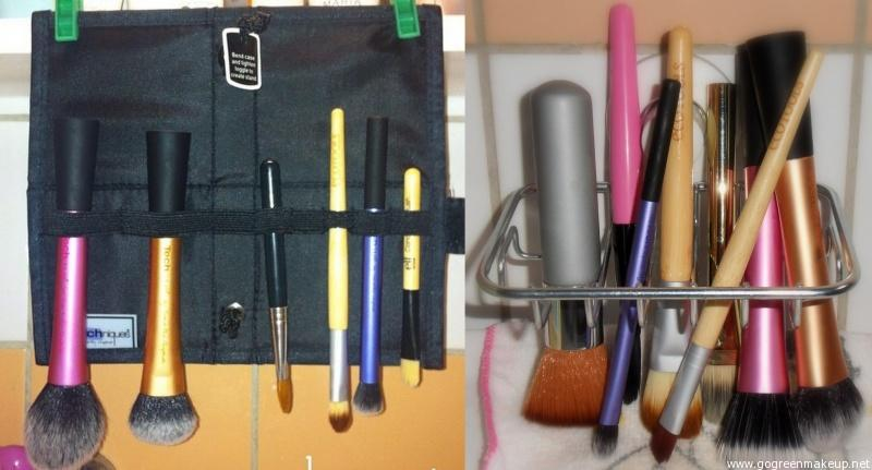 tips torkställ för makeupborstar