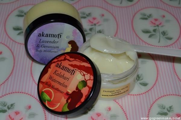 akamuti body moisturiser - Kalahari Watermelon - Lavendel and Geranium