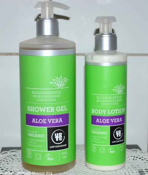 Urtekram ALoe Vera Shower & Lotion