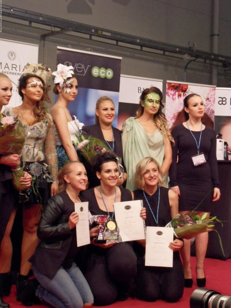 SM Makeup 2015 Final Vinnarna Tema Fancy Organic hudochkosmetik