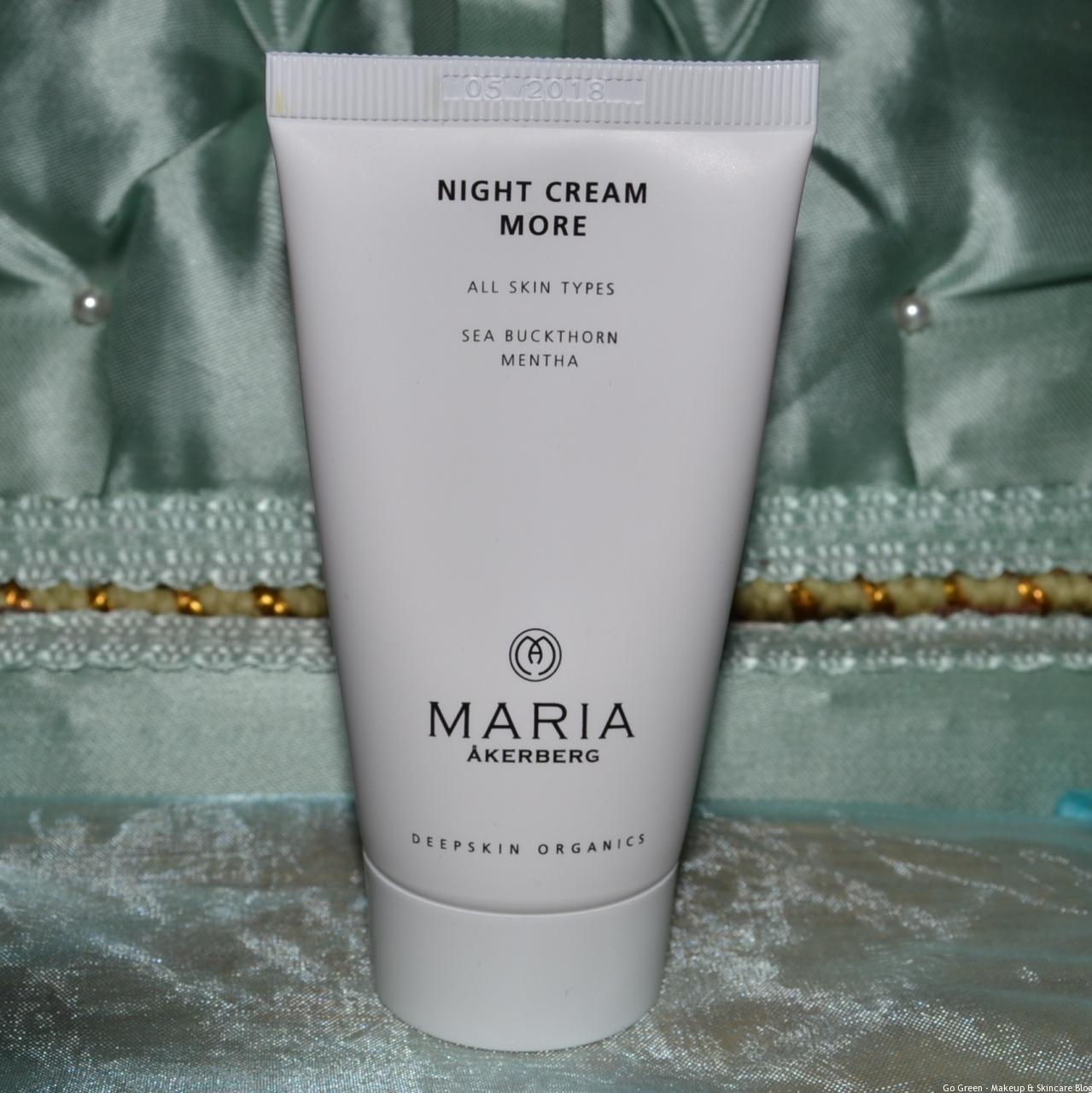 Maria Akerberg Deepskin Organics Night Cream More