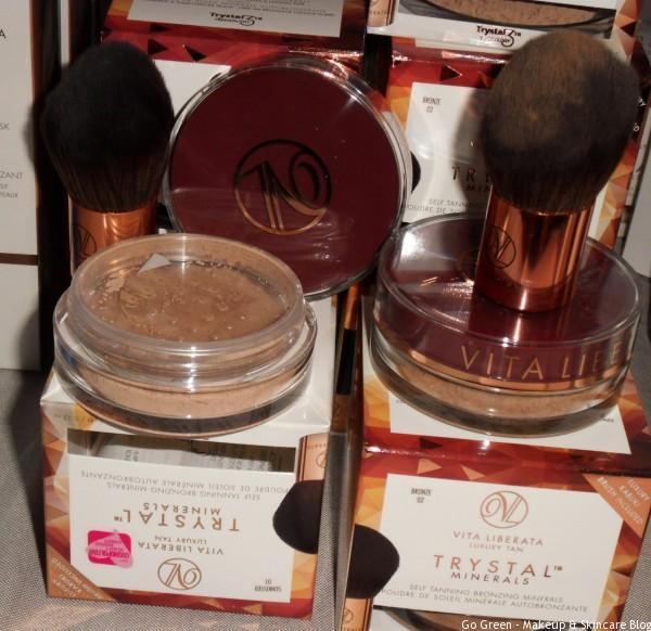 #dbexpo16 vita liberata self tanning mineral bronzer