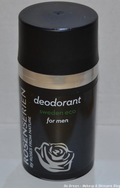 Naturliga deodoranter Rosenserien for Men