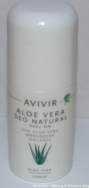 naturliga deodoranter avivir aloe vera