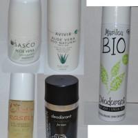 Naturliga Deodoranter x5