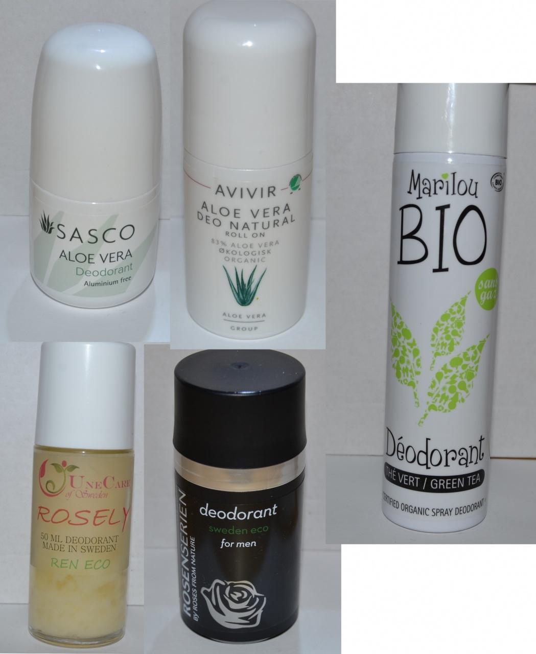 Naturliga Deodoranter