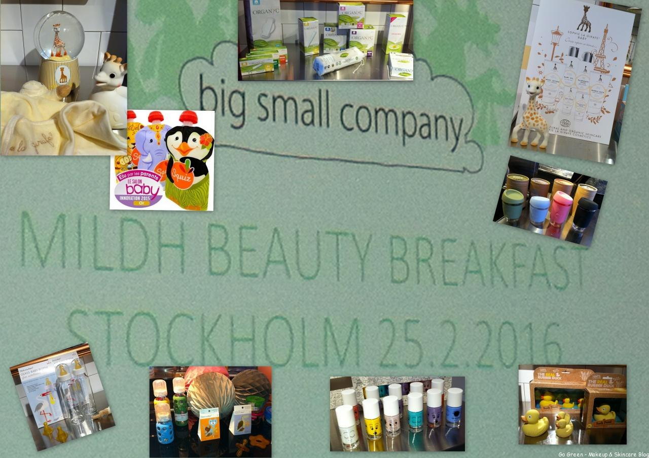 Pressfrukost Mildh Beauty Press & Big Small Company_