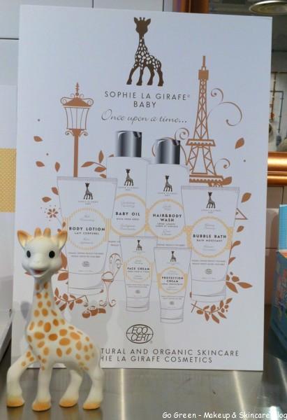Sofie la girafe cosmetics