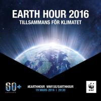 Earth Hour 2016 - tillsammans för klimatet