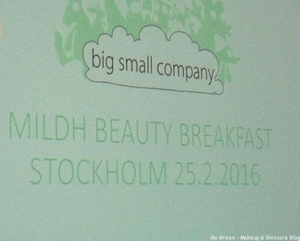 Pressfrukost Mildh Beauty Press & Big Small Company