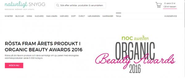 Årets Produkt OBA 2016 prt scr