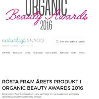 Rösta på Årets Produkt OBA 2016