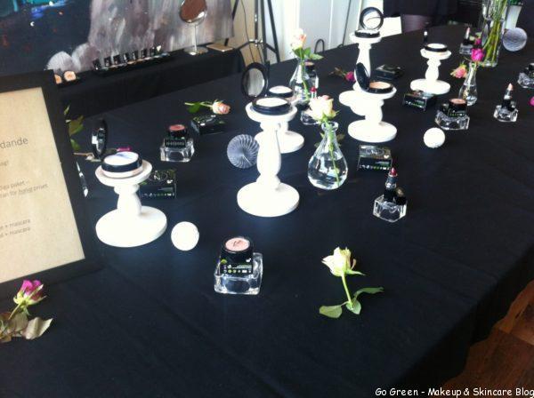 Make-up Event med Organics by Sara & Zuii Organic Sverige