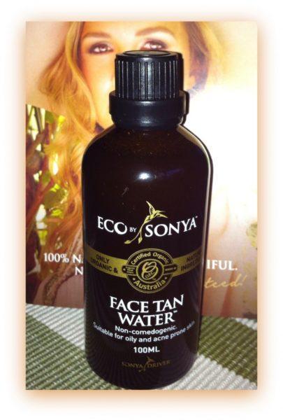 Eco Tan Face Water - Recension