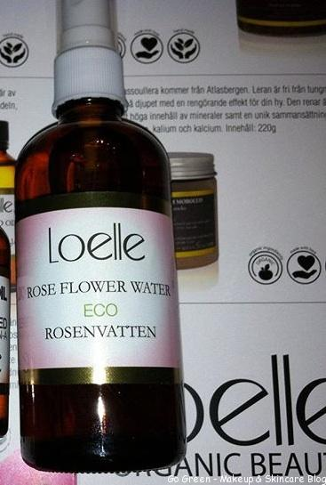 Ansiktsvatten x 2 – recension Loelle Rose Flower Water