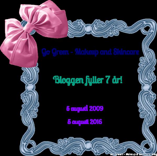 bloggen fyller 7 år!