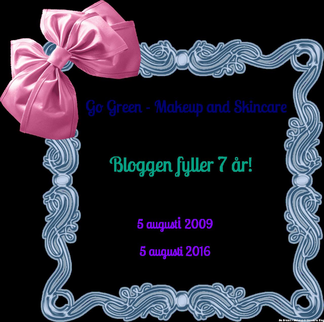 bloggen fyller 7 år