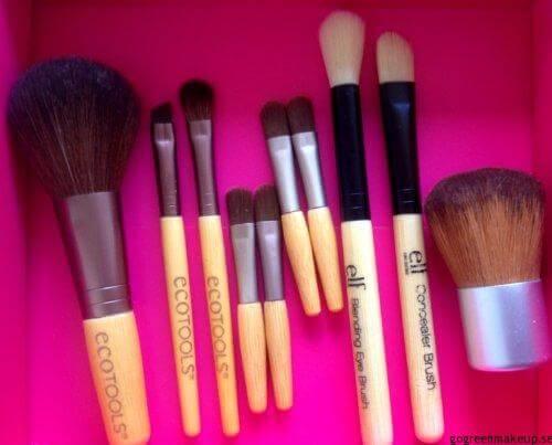 Makeup borstar mini/rese format