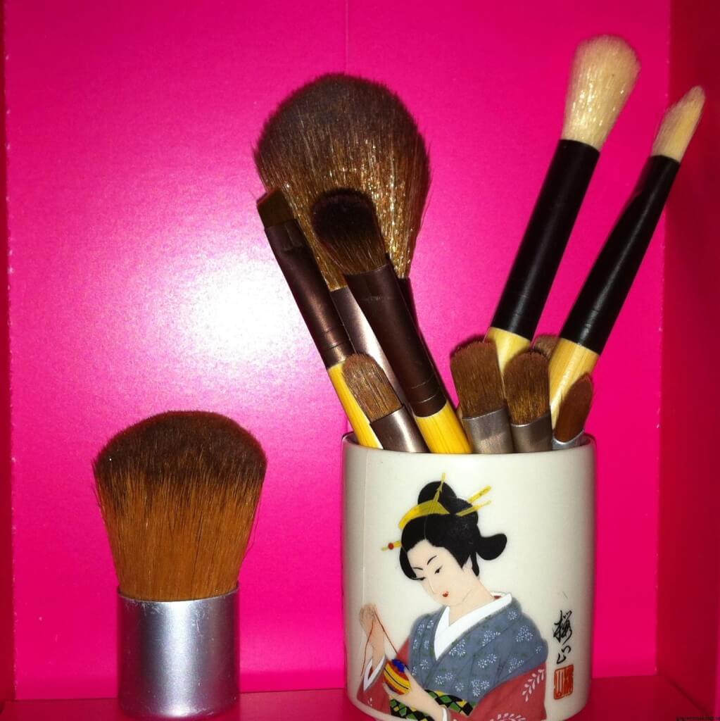 Makeup Borstar i mini/rese format