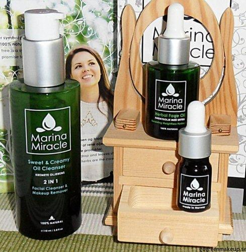 marina miracle Marina Miracle Face Oil & Cleanser - Recension