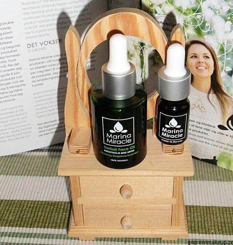 marina miracle olja serum Marina Miracle Face Oil & Cleanser - Recension