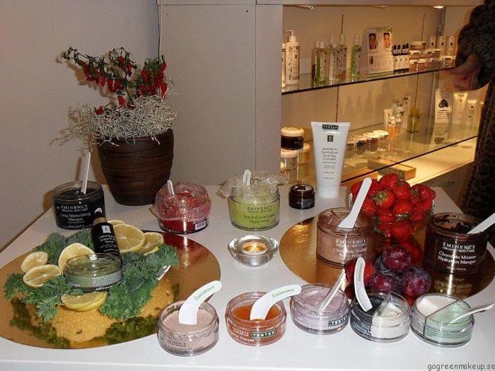 Pressfrukost med Éminence Organic Skincare