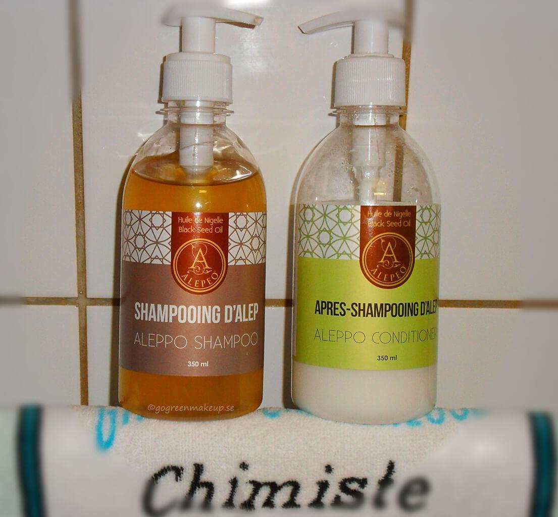 Schampo och balsam med svartkumminolja