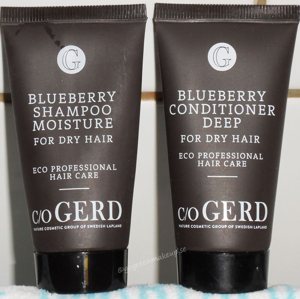 Blueberry schampo och balsam