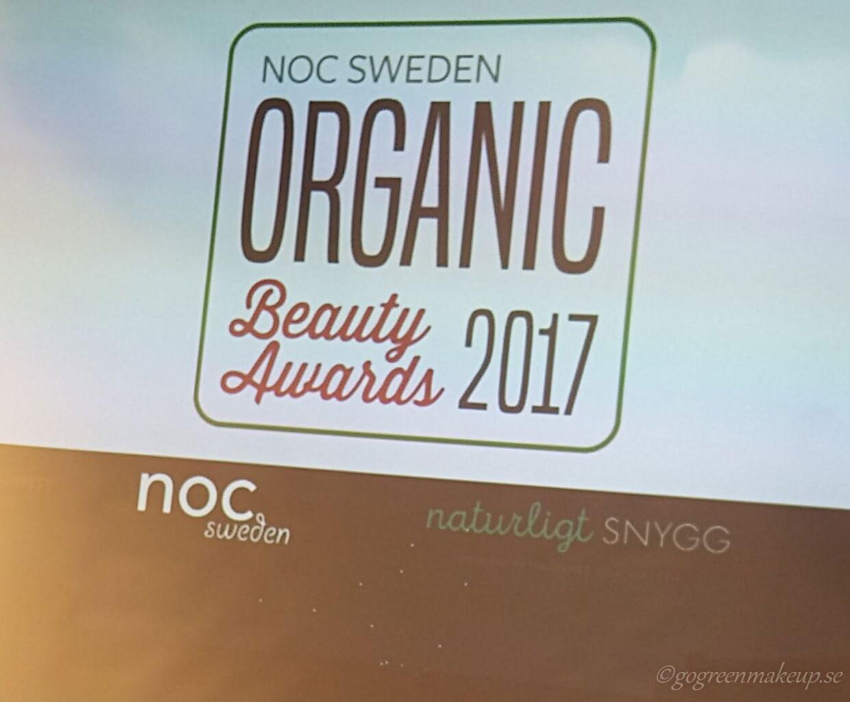 Pressevent Organic Beauty Awards 2017