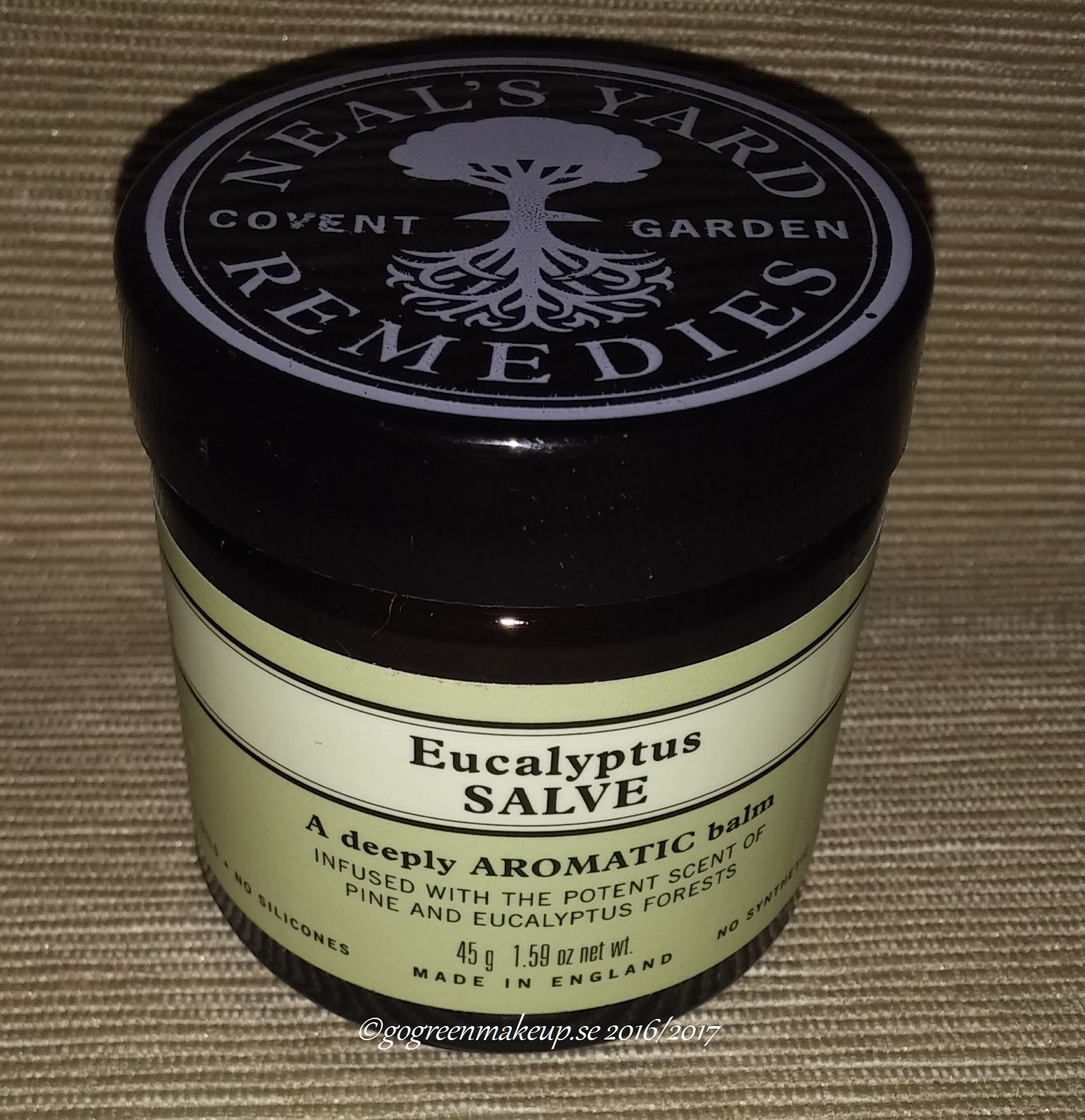 neal yard's remedies eucalyptus salve