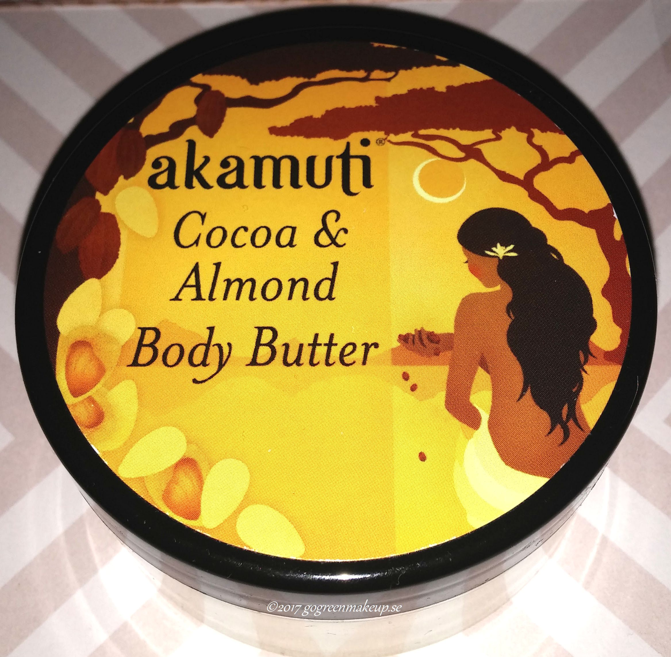 Cocao Almond Body Butter från Akamuti