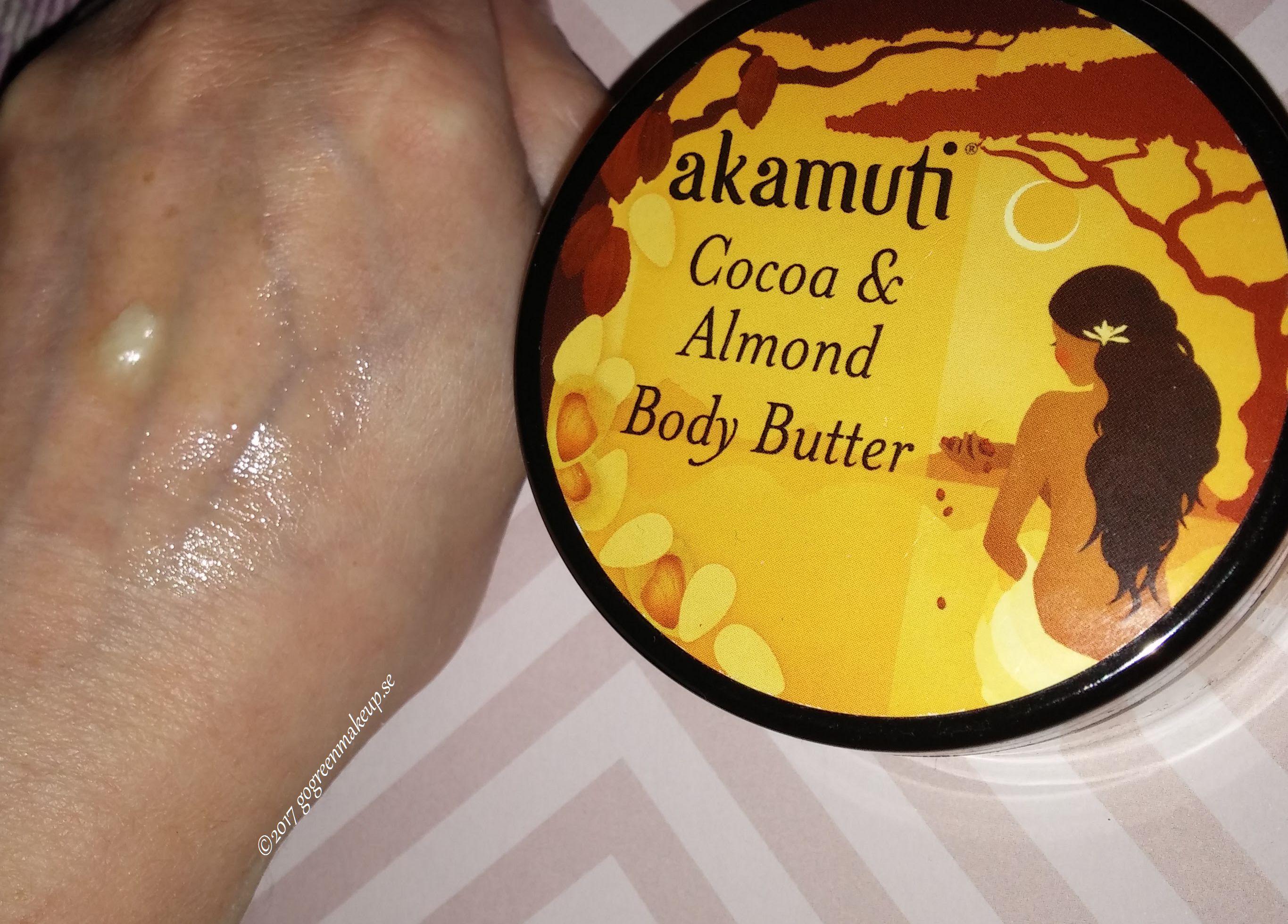 Cocao Almond Body Butter från Akamuti