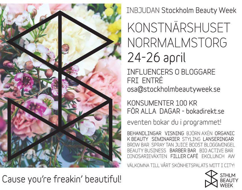 stockholm beauty week 2017