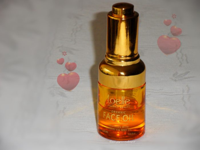 Organic Face Oil de Luxe