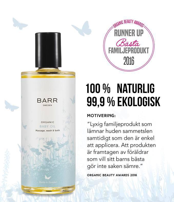 barr sweden ekologiska hudoljor