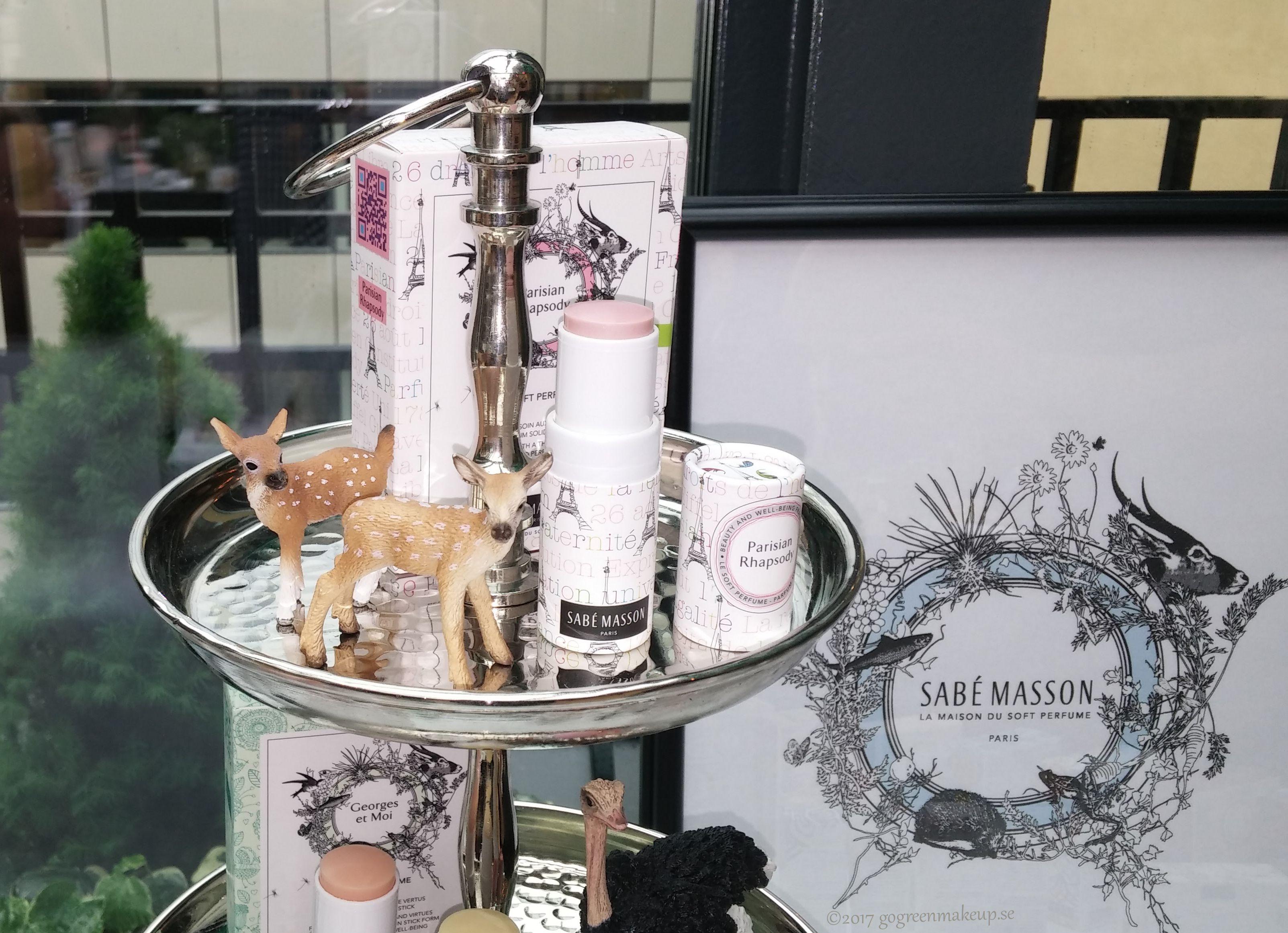 Sabé Masson ljuvlig naturlig parfym i stickform