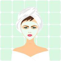Ansiktsbehandling på salong