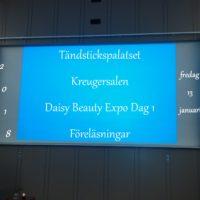 Daisy Beauty Expo Dag 1 - Föreläsningar