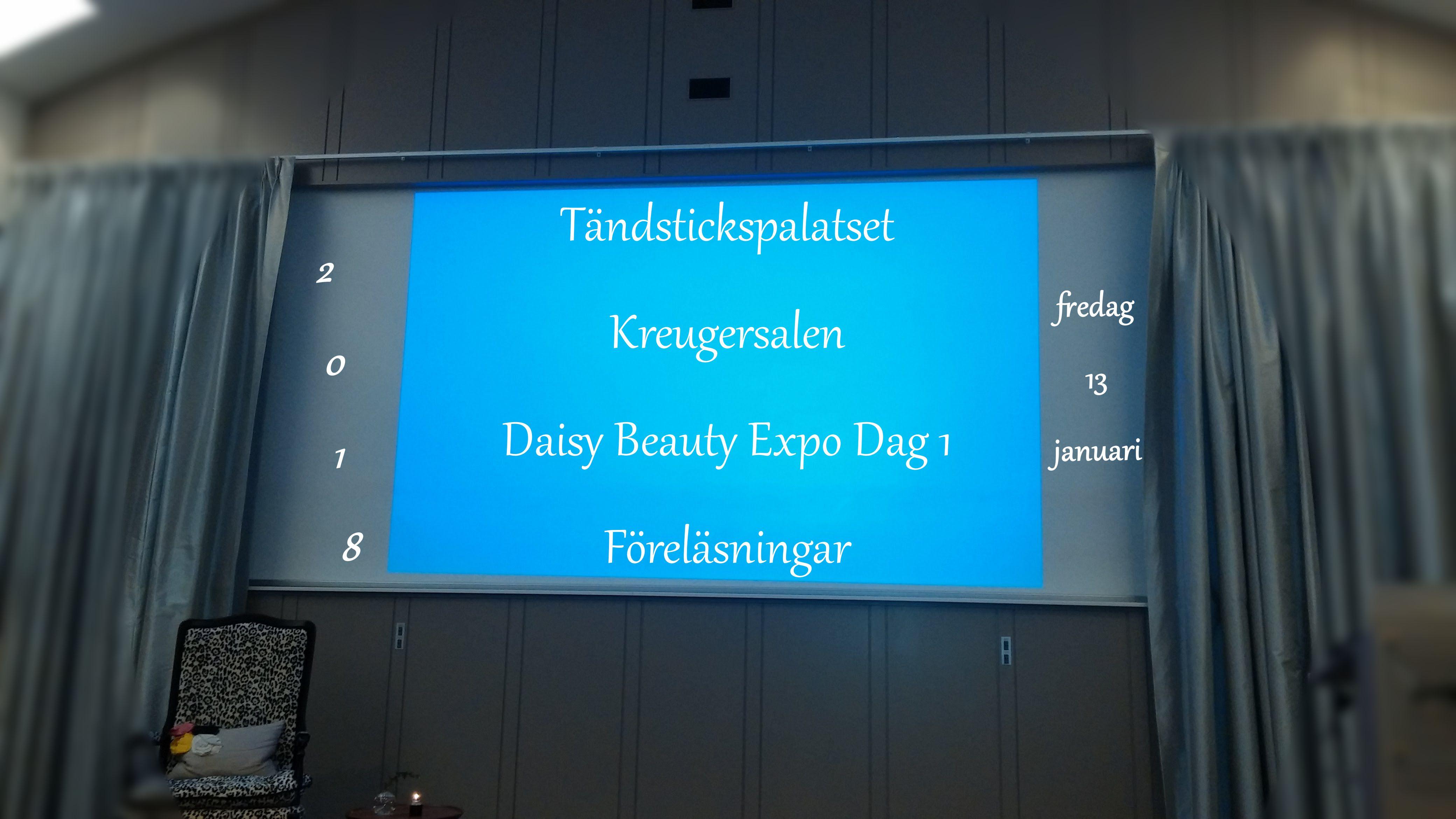 Daisy Beauty Expo Dag 1