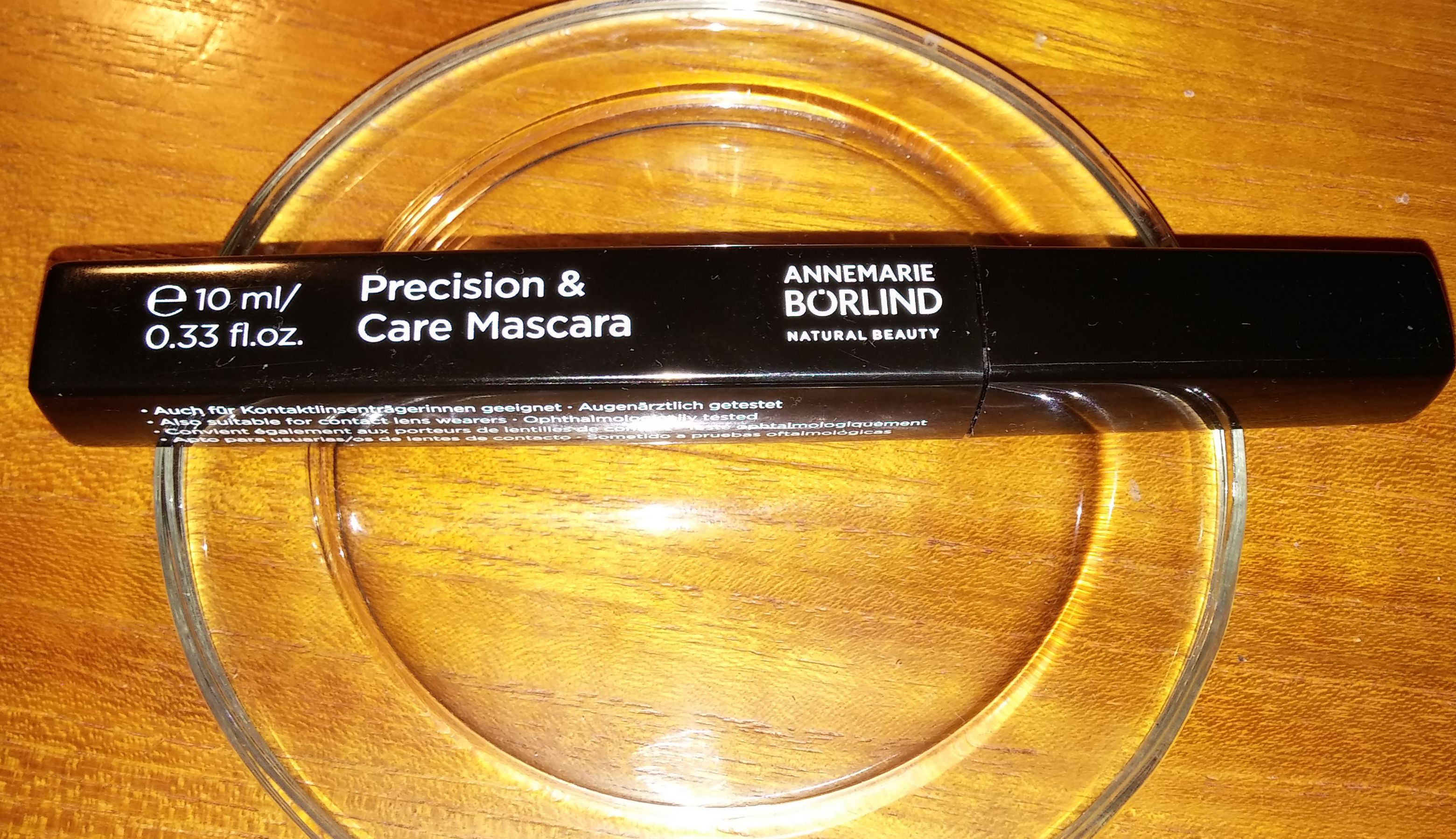 Precision and care mascara - recension