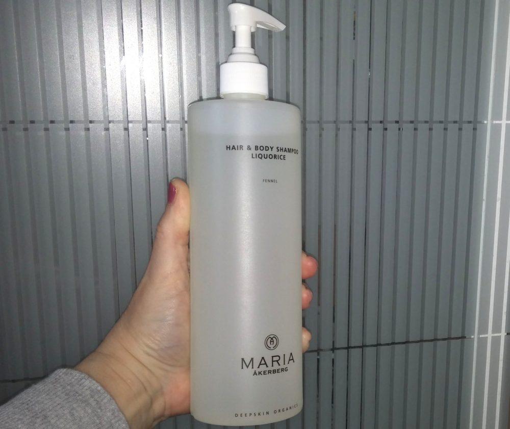 lakkritsdoftande schampo och duschgel