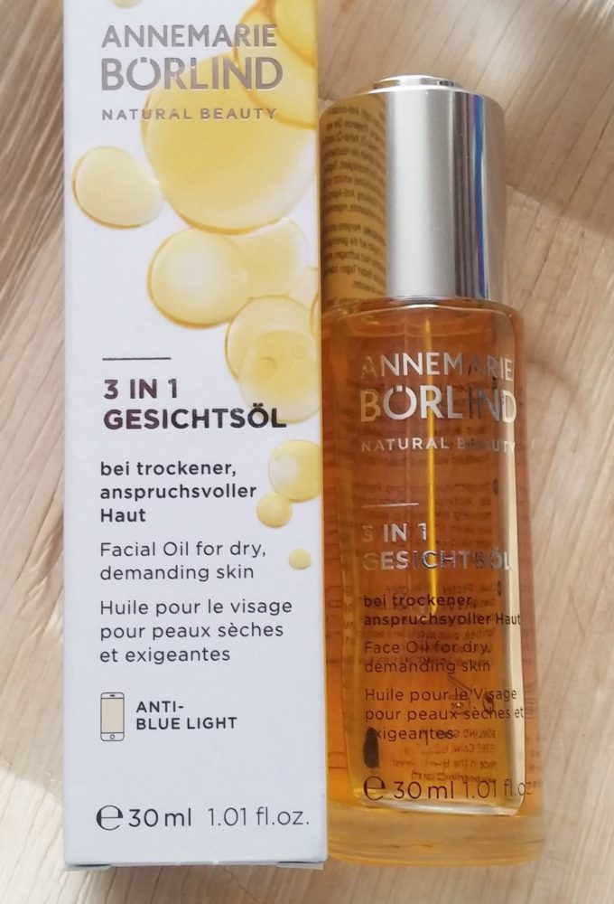 3 in 1 facial oil