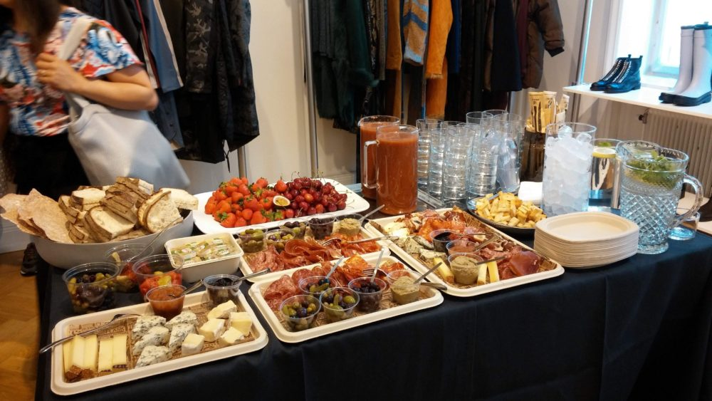 AW18 brunch hos Mildh Press