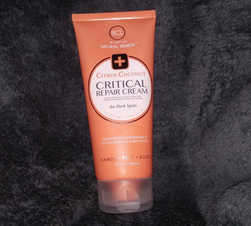 Citrus Coconut Critical Repair hands and feet