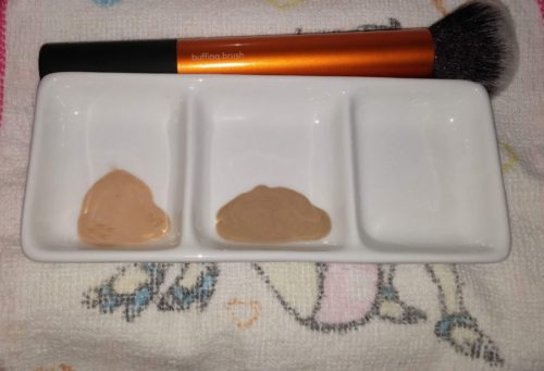 Beige vs Warm foundation nyans