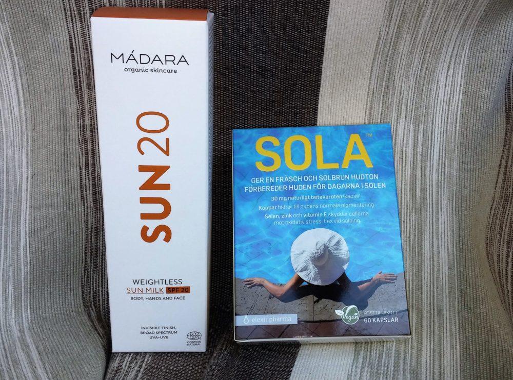 Solskydd att börja med