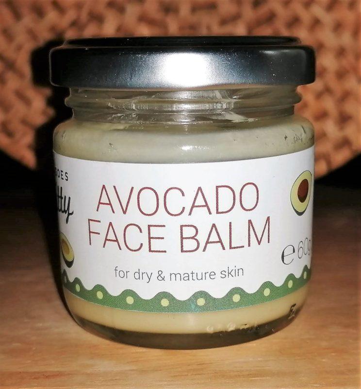 Avocado Face Balm Recension