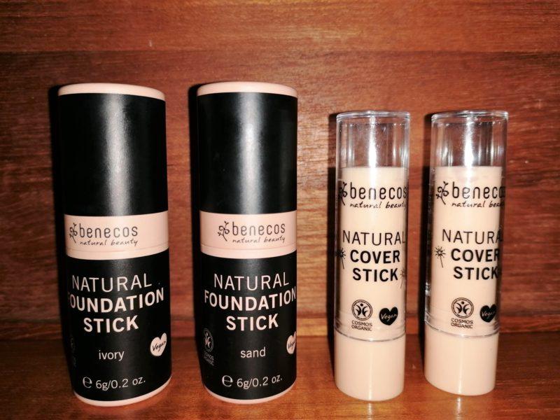 Benecos Foundation och Cover Stick