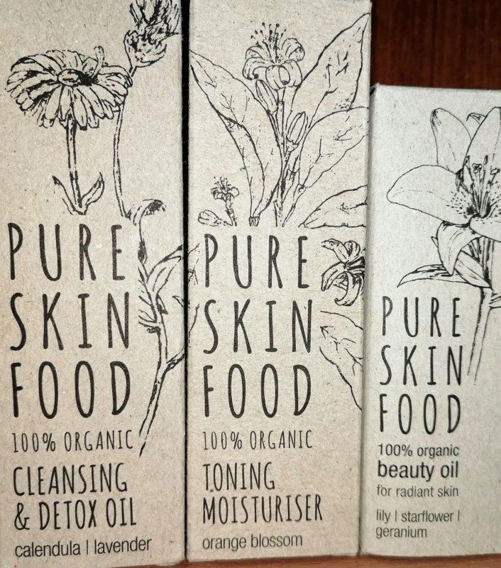 Nytt märke Pure Skin Food